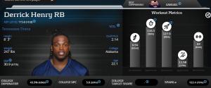 Derrick Henry - Player Profiler