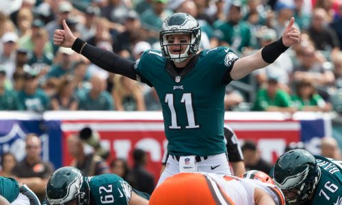 Carson Wentz Now Or Never The Eagles Fantasy Football Outlook